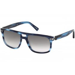 ERMENEGILDO Zegna férfi szemüveg napszemüveg EZ0042 91B kék