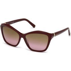 Swarovski női szemüveg napszemüveg SK0135-F 71F bordó