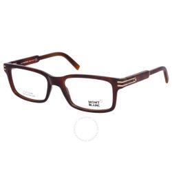 Mont Blanc férfi szemüveg szemüvegkeret MB0668 52 barna