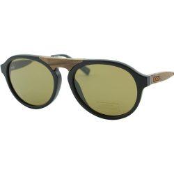 E. Zegna Couture férfi szemüveg napszemüveg ZC0027 02J fekete