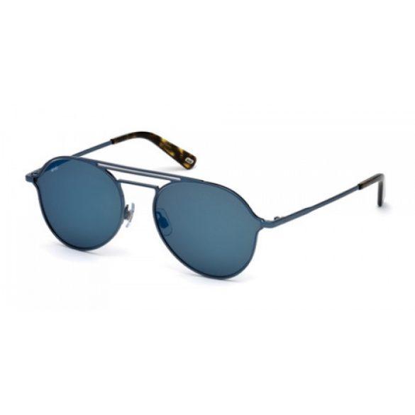 Web férfi szemüveg napszemüveg WE0230 90X kék