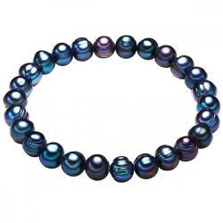 Valero Pearls karkötő -gyöngy pfauenkékkb. 7,0-8,0 mm