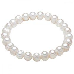 Valero Pearls karkötő -gyöngy Fehér kb. 7,0-8,0 mm