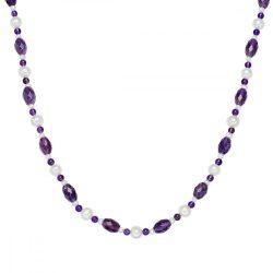 Valero Pearls Lánc Amethyst lila -gyöngyfehér