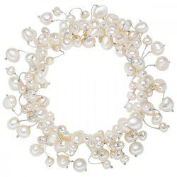 Valero Pearls karkötő -gyöngy Fehér dehnbar