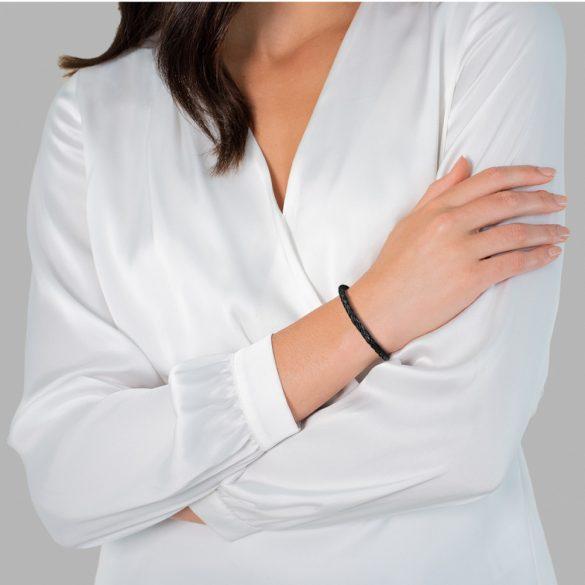 RafaelaDonata karkötő valódi bőr Feketemágneszáras Hossz: 17 cm