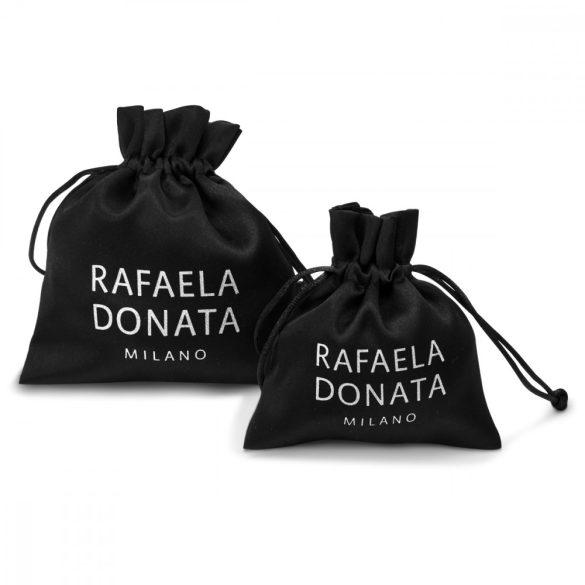 RafaelaDonata karkötő valódi bőr sötétbarna FémgyöngyaranySzínn üvegkristály klar