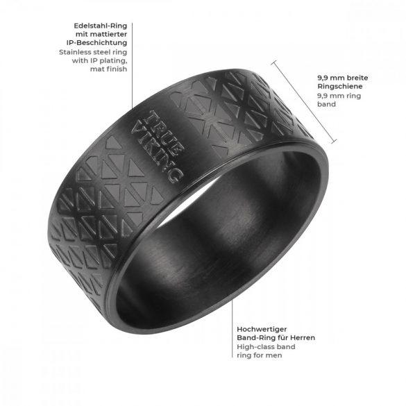 TrueRebels gyűrű nemesacél gyűrű 64