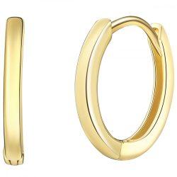 RafaelaDonata fülbevaló Sterling ezüst sárga aranyozott