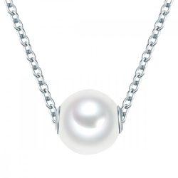 Valero Pearls Lánc nyaklánc kiegészítőSterling ezüst -ZuchtGyöngy fehér