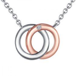 RafaelaDonata Lánc nyaklánc kiegészítőSterling ezüst rosearanyArany / rhodiniert Diamant Hossz: 50 cm + 5 cm