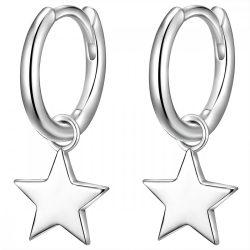 Glanzstuecke fülbevaló Sterling ezüst