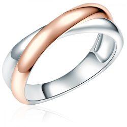 RafaelaDonata gyűrű Sterling ezüst rózsaaranyaranyozott gyűrű 56