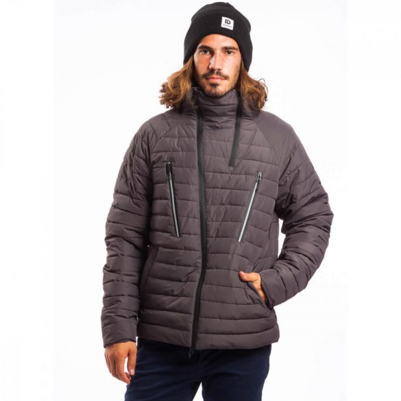 Fundango férfi téli kabát M 793-dark szürke 1kv106