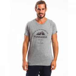 Fundango férfi téli póló S 745-szürke heather 1tv10102