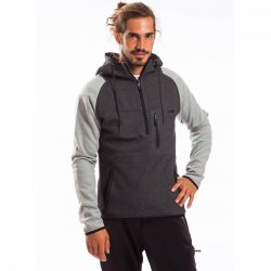 Fundango férfi téli pulóver S 794-dark szürke heather 1wv105