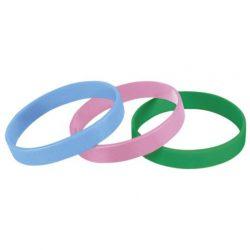 Nike Unisex férfi női zöld, rózsaszín, világoskék karkötő MISC AK0015/902 /várható érkezés: 11.05