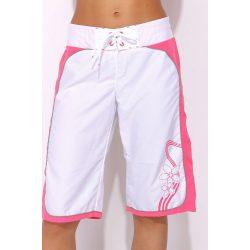 Adidas női fehér-rózsaszín short, 3/4 nadrág 34 046606 /várható érkezés: 11.05