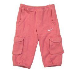 Nike bébi lány rózsaszín tréning melegítő szabadidőruha nadrág 75-80 cm /kamplvm20210629 Várható érkezés 08.10