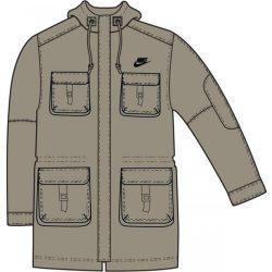 Nike férfi drapp kabát XXL 249757/208 /várható érkezés: 11.05