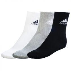 Adidas férfi fekete-fehér-szürke zokni 31-34 616059 /várható érkezés: 11.05
