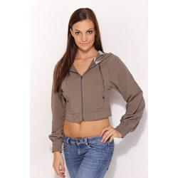 nike női barna pulóver XS/34
