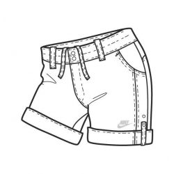 Nike női fehér short, térdnadrág L/40 272547/100 /várható érkezés: 11.05