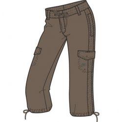 Nike női barna short, térdnadrág L/40 272557/236 /várható érkezés: 11.05