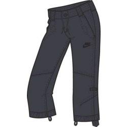 Nike női szürke short, térdnadrág S/36 333169/060 /várható érkezés: 11.05