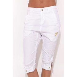 nike női fehér  bermuda rövidnadrág L/40 /kamp202011lvm várható érkezés:12.10