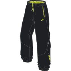 Nike Fiú fekete tréning melegítő szabadidőruha nadrág M (140-152 cm) /kamplvm20210629 Várható érkezés 08.10