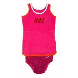Nike bébi lány rózsaszín ruha, kisbugyi 80-86 cm /kamplvm20210629 Várható érkezés 08.15