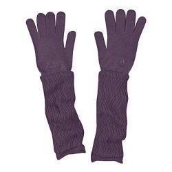 Adidas női lila sapka, sál, kesztyű L