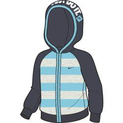 Nike gyerek kék-szürke pulóver 75-80 cm 381636/141 /várható érkezés: 11.05