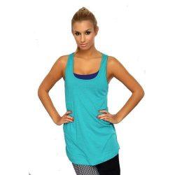 Reebok női türkiz kék fitness felső 32-XS K13696 /várható érkezés: 11.05