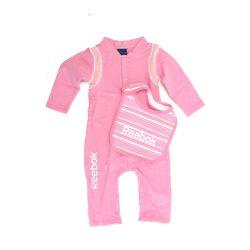 Reebok gyerek rózsaszín overál+szakálka. 86 cm K33208 /várható érkezés: 11.05