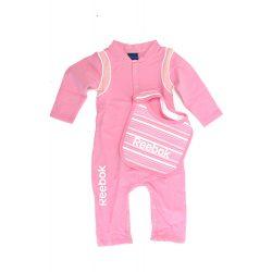Reebok gyerek rózsaszín overál+szakálka. 9-12 hónap K33208 /várható érkezés: 11.05
