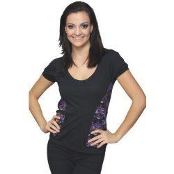 Reebok női fekete póló 38-S/M K41390 /várható érkezés: 11.05