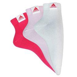 Adidas női rózsaszín-fehér-szürke zokni 43-46 V38893 /várható érkezés: 11.05