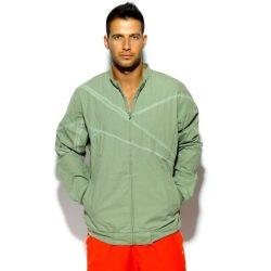 Reebok férfi   zöld átmeneti kabát M /kamp202011lvm várható érkezés:12.10