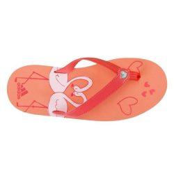 Adidas gyerek narancssárga  papucs 28