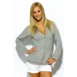Reebok női szürke pulóver 34-XS/S