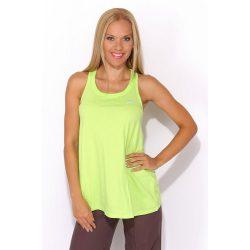Adidas női Zöld atléta Top újjatlan póló 34