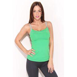 Reebok női zöld fitness felső 34-XS/S W07191 /várható érkezés: 11.05