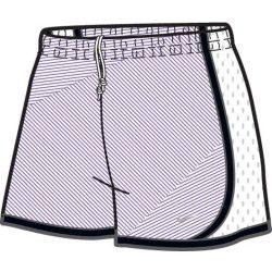 Nike női fehér, lila short, térdnadrág XS/34 427545/113 /várható érkezés: 11.05