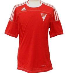 adidas férfi piros futballmez L /kamplvm20210629 Várható érkezés 08.15