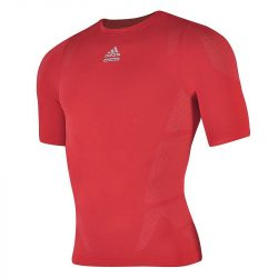 Adidas férfi piros futballmez S
