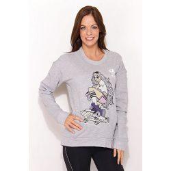 Adidas női szürke pulóver 42