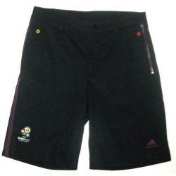 Adidas fiú fekete  bermuda rövidnadrág 140