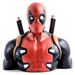 Marvel Deadpool money doboz bust 20cm gyerek